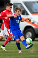 Croatia v Austria - UEFA Under-19 Championship Elite Round Group